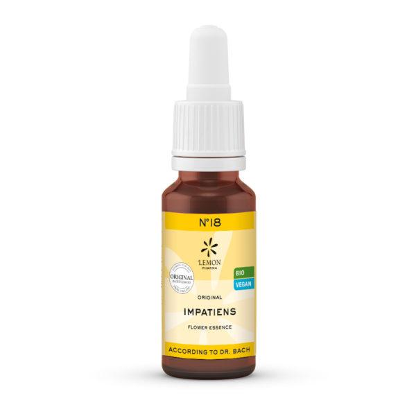 Nr 18 Impatiens Drüsentragendes Springkraut Einsamkeit Lemon Pharma Original Bachblüten Dr. Bach