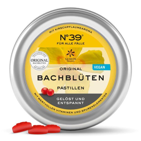 N°39 Pastille FÜR ALLE FÄLLE Original Bachblüten original bachflower Dr. Bach Lemon Pharma