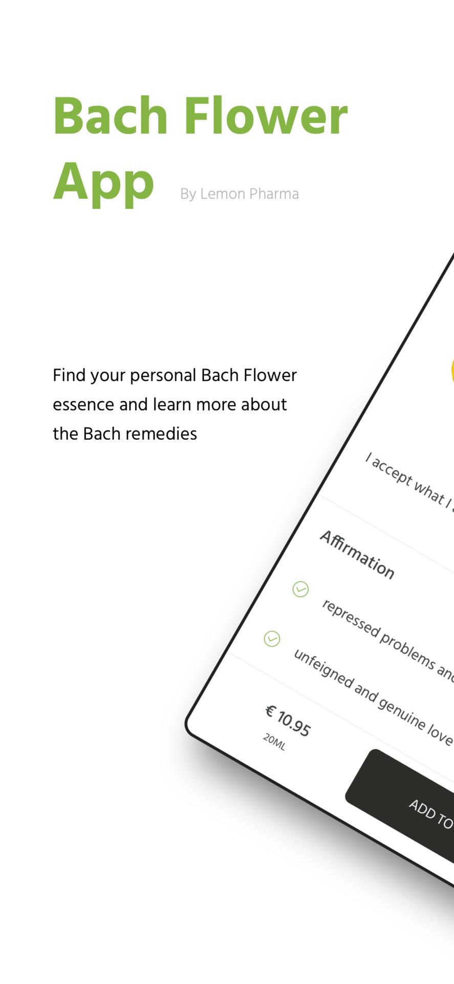 original bachflower app Dr. Bach Lemon Pharma